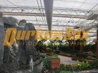泉怡园农庄生态餐厅纤维布风管