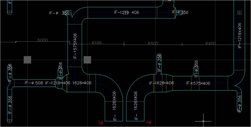 绝热索斯风管设计图纸