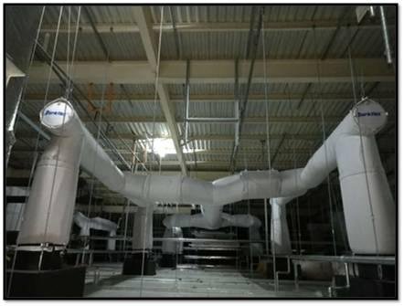 纤维织物复合风管