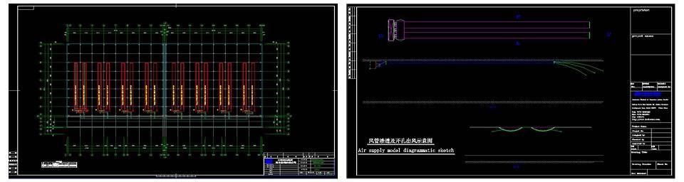 纤维织物复合风管设计